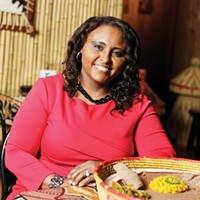 Queen of Sheba's Almaz Ainu loves to spread the news about Ethiopian food and culture