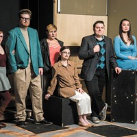 Ignite! stages a wild romantic farce about chefs playing mistresses and vice versa