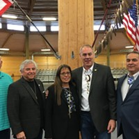 Interior Secretary Zinke visits Spokane Tribe to talk Grand Coulee reparations, opioid crisis