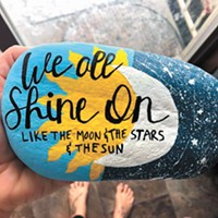 Coeur d'Alene rock-painting community shares gifts of unexpected kindness all over town