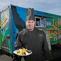 Cooking out of a Coeur d'Alene food truck, chef Tony Shields stays true to his principles