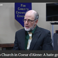 "Does this anti-""sodomite,"" slavery-defending, Holocaust-denying Idaho pastor lead a hate group?"