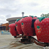 Riverfront Park's Berry-Go-Round Ride has been resurrected on the Skate Ribbon