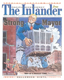 The Oct. 27, 1999, issue - Cover ILLUSTRATION: IVAN MUNK