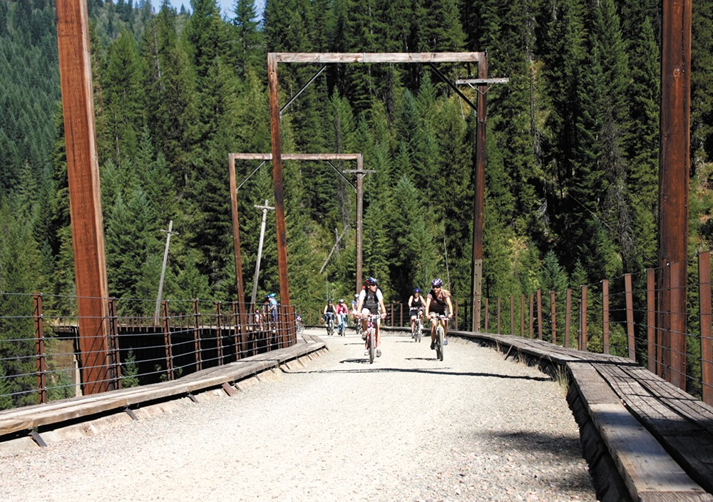 The Route of the Hiawatha should be on every bike enthusiast's summer bucket list.