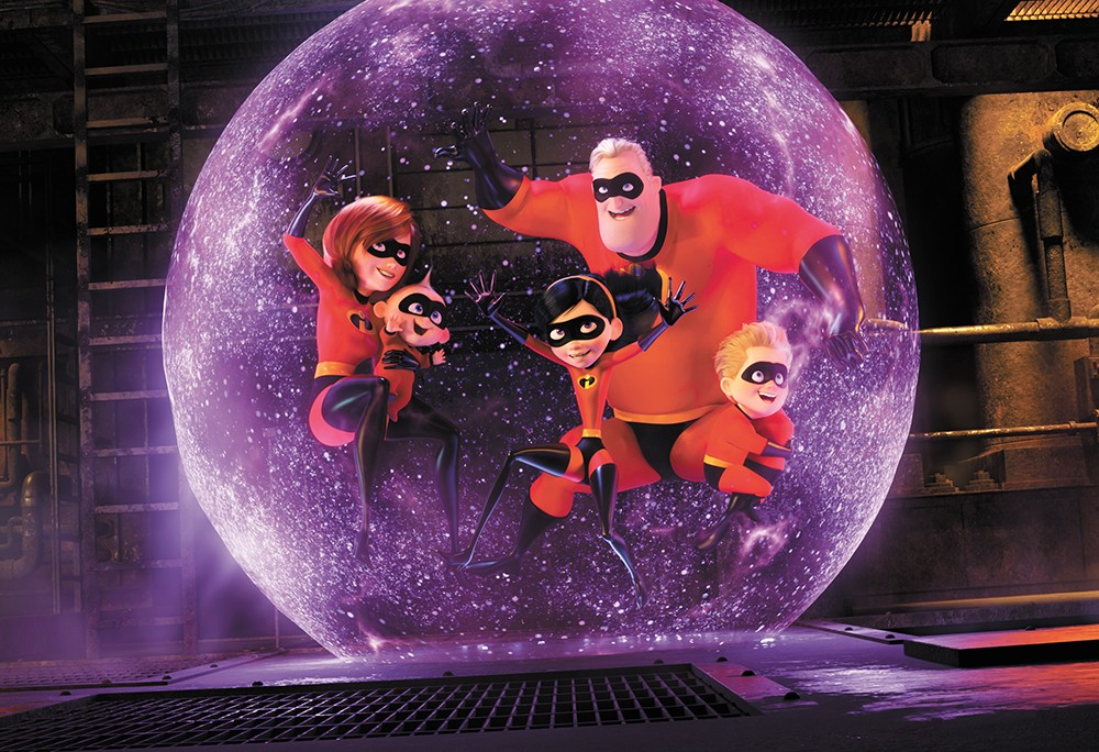 Your friendly neighborhood superheroes: Like its predecessor, Incredibles 2 explores themes of identity and domesticity.