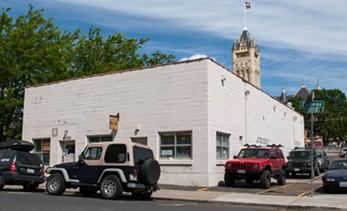 The future of the Spokane Vets garage is uncertain - DANIEL WALTERS PHOTO