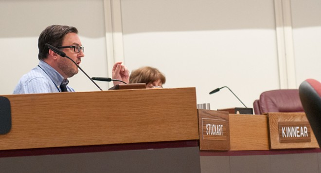 Immigration is one of the subject City Council President Ben Stuckart feels most passionately about. - DANIEL WALTERS PHOTO