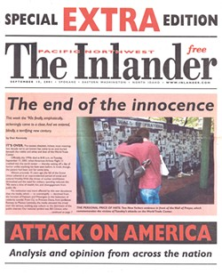 The Sept. 15, 2001 Extra edition