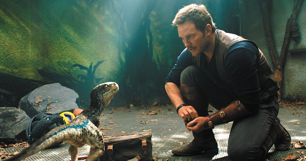Hold on to your butts: The newest Jurassic World has a whole lot of incident, but very little substance.