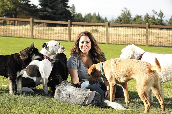 Rescue4All's Jamie McAtee was a featured recipient of the Inlander's annual philanthropy award, the Peirone Prize, last summer for her efforts to rescue and rehabilitate local animals. - YOUNG KWAK