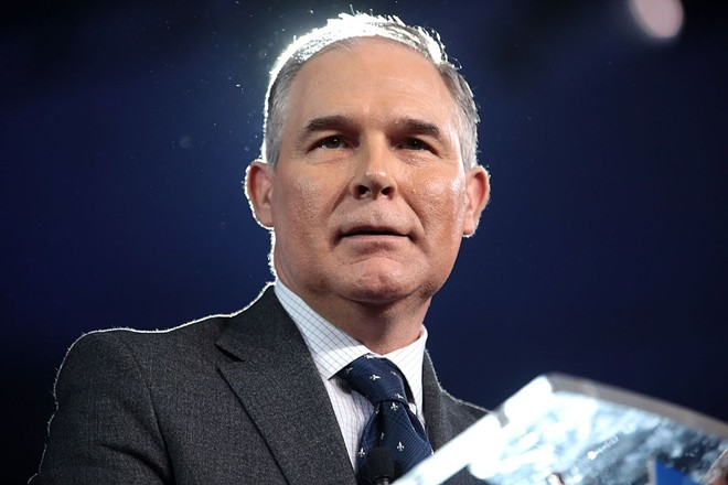 Maybe Scott Pruitt's wife can pull some strings to help him find a new job? - GAGE SKIDMORE PHOTO