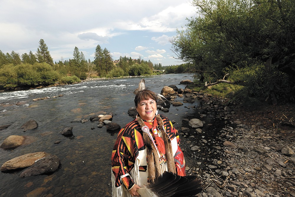 "Margo Hill: ""If the tribes have higher water quality standards, it's really better for everybody."" - YOUNG KWAK"