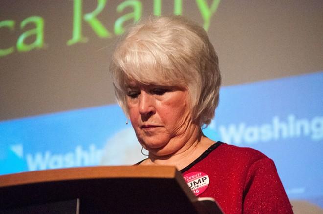 Former Spokane GOP Chair Cecily Wright - DANIEL WALTERS PHOTO