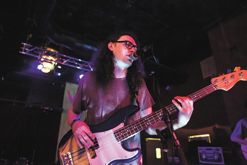 Runaway Octopus perform at 2017's Volume Music Festival. - KRISTEN BLACK PHOTO