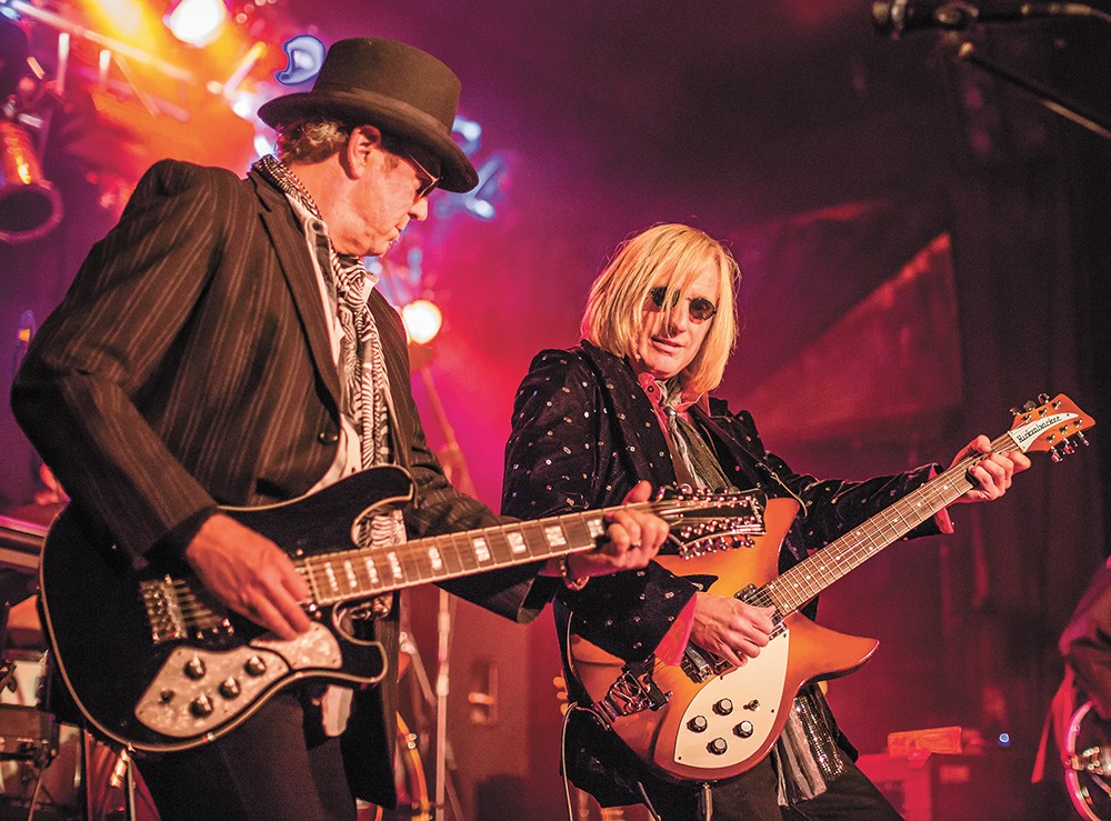 Tribute act Petty Fever hits the Clocktower Stage on Saturday night at Pig Out in the Park.
