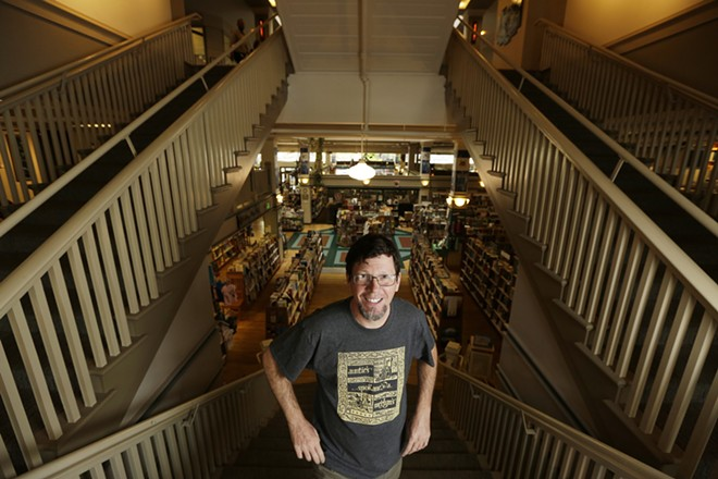 Auntie's owner John Waite purchased the iconic, independent bookstore in 2016. - YOUNG KWAK