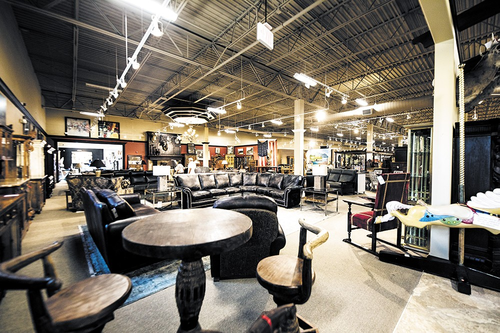 Liberty Lake's Consignment Furniture is the largest consignment shop in the nation. - ALICIA HAUFF PHOTO