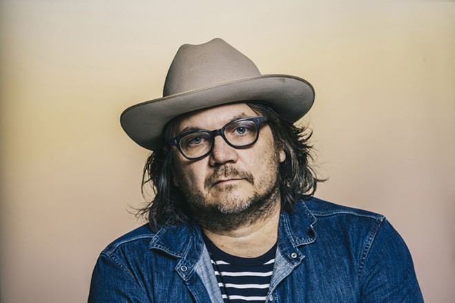 Jeff Tweedy made it through a contentious, strange but satisfying show at the Bing on Wednesday night.