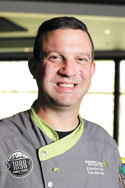 Chef Tyler Schwenk - YOUNG KWAK