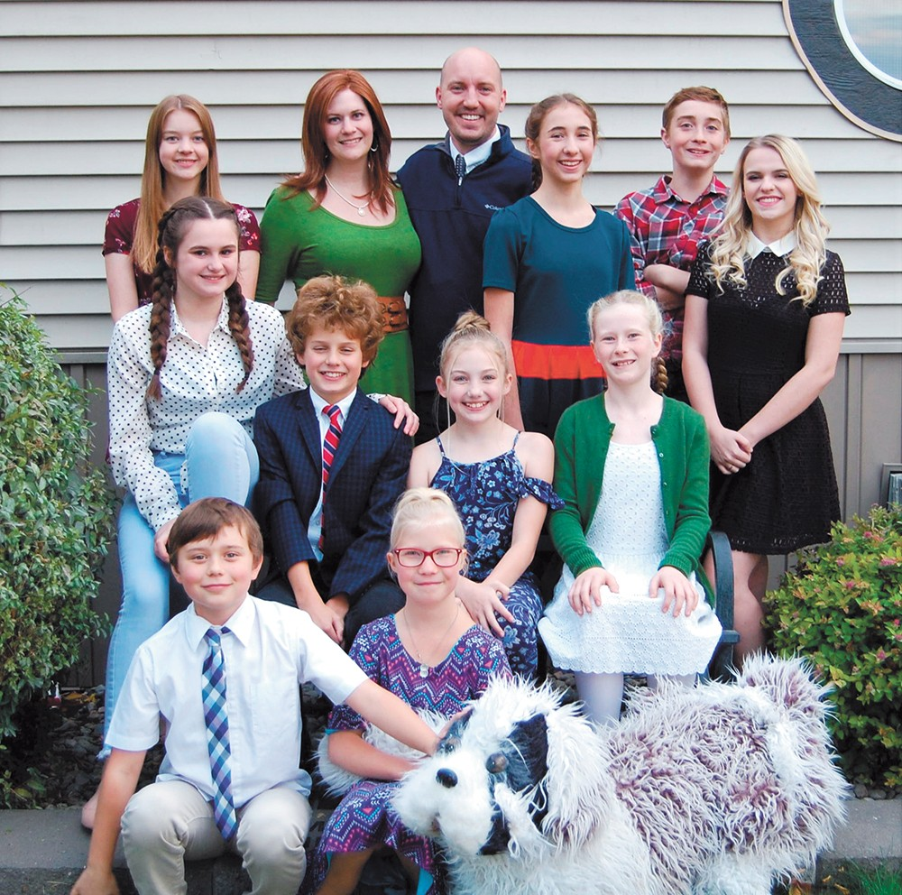 Cheaper By The Dozen opens at Lake City Playhouse this weekend.