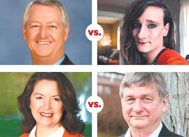 Clockwise: Al French, Robbi Katherine Anthony, Mary Kuney and Rob Chase