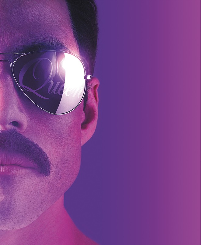 Rami Malek gives it his all as Freddie Mercury.