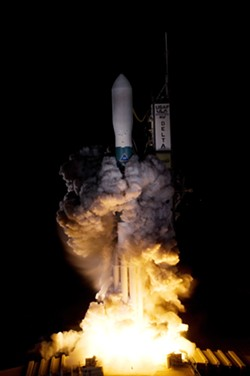 n a photo from NASA, the Kepler telescope is launched aboard a rocket in Cape Canaveral, Fla., March 7, 2009. After nine-and-a-half years in orbit, 530,506 stars observed and 2,662 planets around other stars discovered, the Kepler telescope will be left to drift forever around the sun. - NASA/REGINA MITCHELL-RYALL, TOM FARRAR VIA THE NEW YORK TIMES