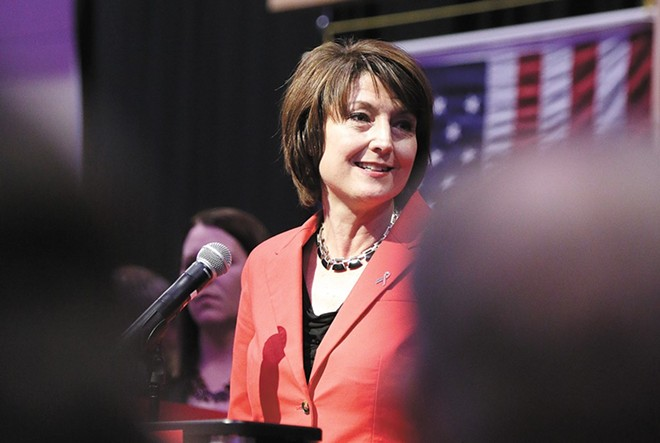 Rep. Cathy McMorris Rodgers is leading in early election results. - FILE PHOTO