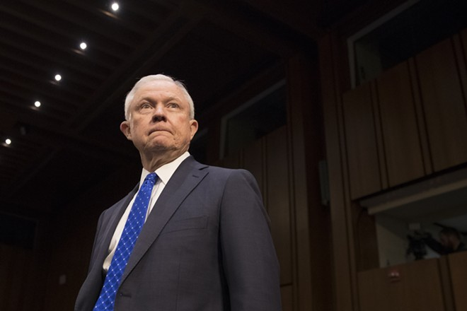 Attorney General Jeff Sessions at a Senate Judiciary Committee hearing in Washington on Oct. 18, 2017. President Donald Trump forced out Sessions on Wednesday, Nov. 7, 2018, ending a partnership that soured almost from the start of the administration and degenerated into one of the most acrimonious public standoffs between a commander in chief and a senior cabinet member in modern American history. - TOM BRENNER/THE NEW YORK TIMES