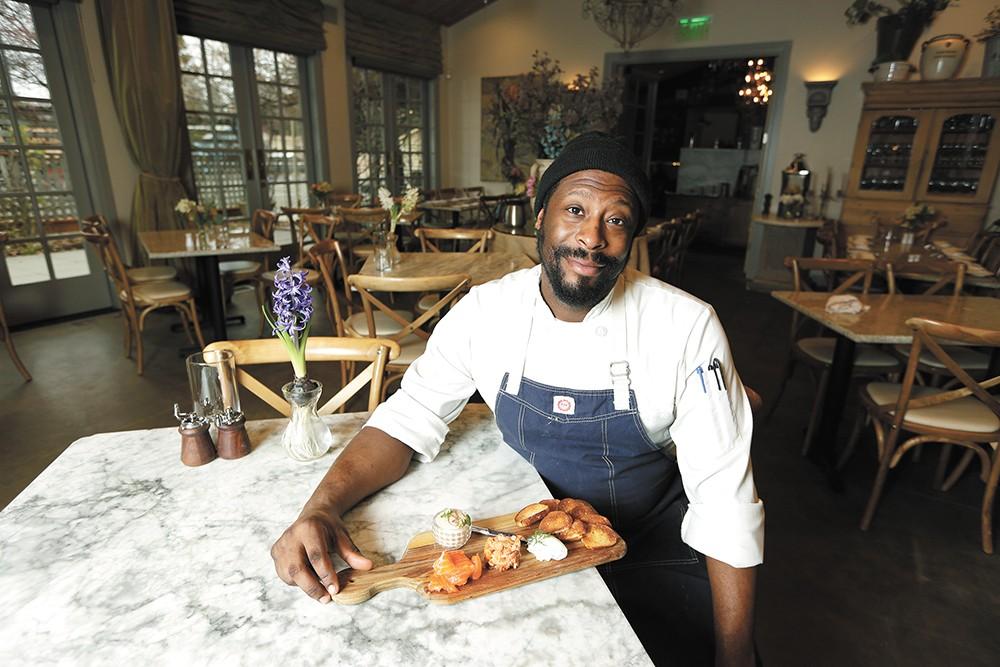 Luna's chef Joe Morris is showcasing old menu favorites. - YOUNG KWAK