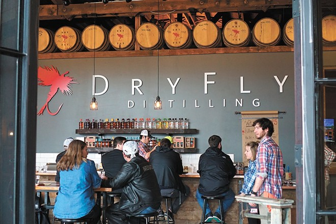 Dry Fly plans to increase its spirits production by 730 percent.