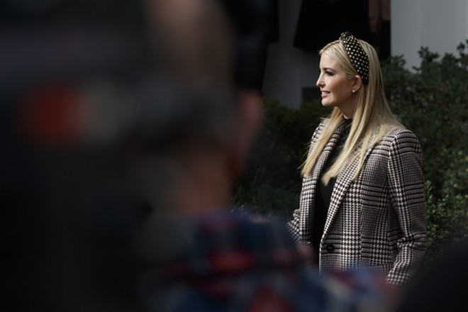 Ivanka Trump attends the traditional pre-Thanksgiving turkey pardoning, at the White House in Washington, Nov. 20, 2018. Trump repeatedly used a personal email account to conduct government business in 2017, a White House review found, a fact that raises the stakes on congressional oversight hearings that the new Democratic House majority will hold. - TOM BRENNER/THE NEW YORK TIMES
