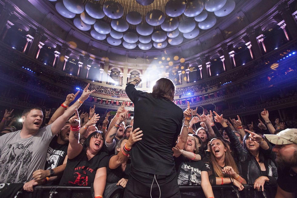 Myles Kennedy performing at London's famed Royal Albert Hall. - NIALL FENNESSY PHOTO