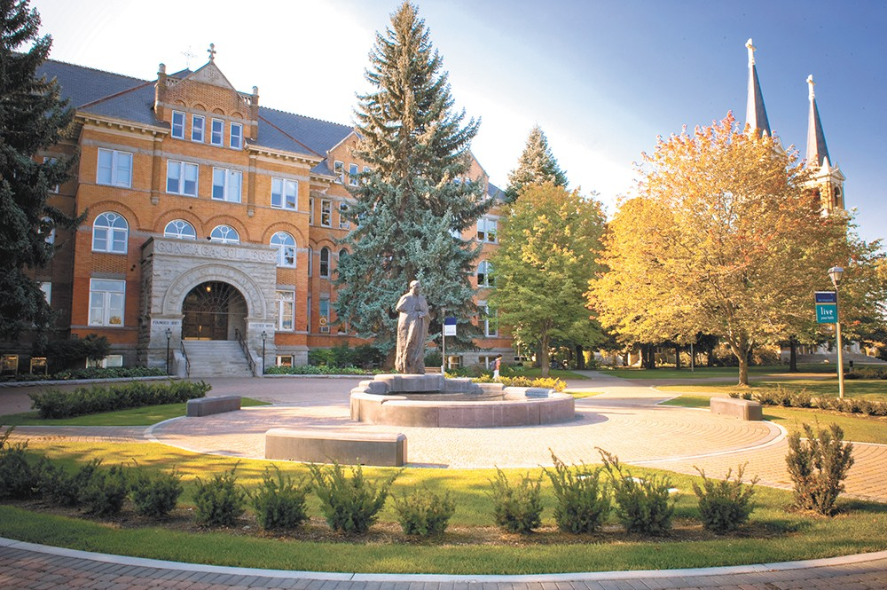 Students have called for Gonzaga to divest from fossil fuel companies for years. - JENNIFER RAUDEBAUGH PHOTO