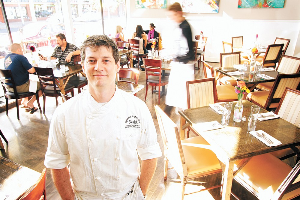 Chef Jeremy Hansen has a new concept for Santé's space. - YOUNG KWAK