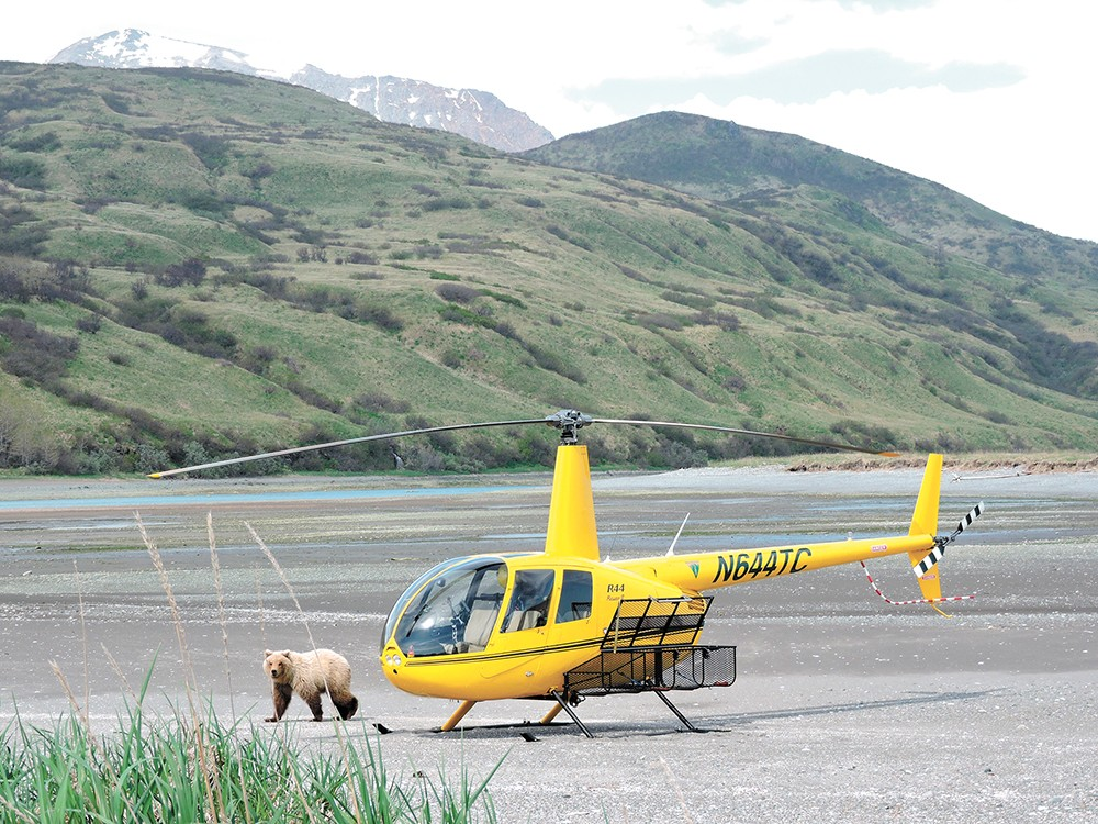 Flying is the only way in to Katmai National Park. - JOY ERLENBACH PHOTO