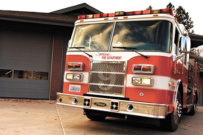 Spokane voters will consider a levy next week to pay for about 30 firefighters and 20 police officers. - YOUNG KWAK