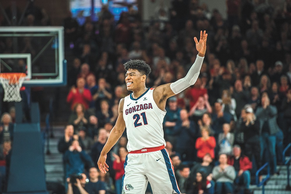 Junior Rui Hachimura has a bright NBA future. - DAWSON REYNIER PHOTO