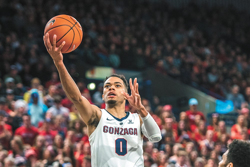 Newcomer Geno Crandall is a key contributor to this year's Zags. - DAWSON REYNIER PHOTO