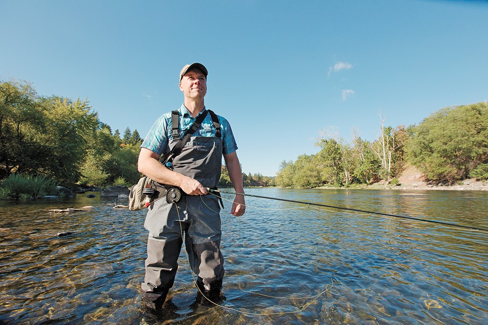 Readers' favorite place to fly fish: the Spokane River. - YOUNG KWAK PHOTO