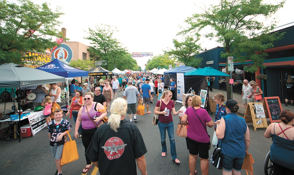 The scene at the Garland Street Fair in 2017. A year and a half later, the event was dead. - STUART DANFORD PHOTO