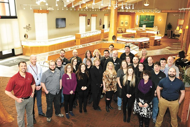 Brian Toone, left, and the people behind the best jewelry in the Inland Northwest. - YOUNG KWAK PHOTO