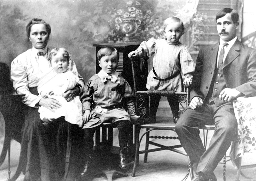 The Hanninen family is part of North Idaho's Finnish contingent, having arrived in the region in 1904.