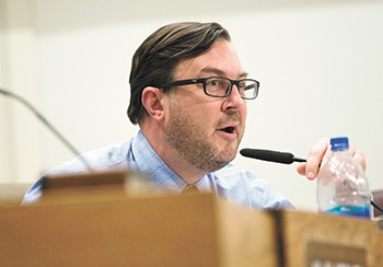 City Council President Ben Stuckart has been publicly critical of regulators like city fire marshals and the Spokane Regional Clean Air Agency for their impact on significant projects. - DANIEL WALTERS PHOTO
