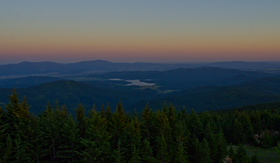 Evening view from Mt. Spokane - JACOB JONES