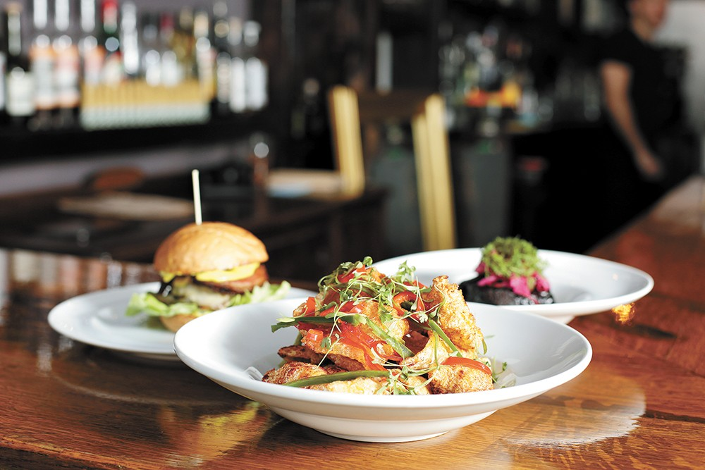 Smoke & Mirrors' menu features upscale pub fare ideal for pairing with beer and sharing with friends. - YOUNG KWAK PHOTO