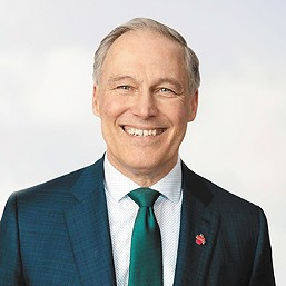 Jay Inslee is calling for a fairer tax system.