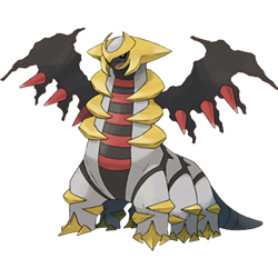 Giratina, a legendary-level Pokémon captured by Drew Spilker and Brian Craig - KEN SUGIMORI