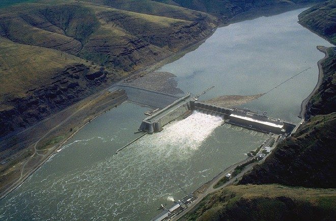 The Lower Granite Dam is one of four on the Snake River that some groups want to talk about removing. A state process to study the impacts of removal is being debated as lawmakers decide whether to fund community meetings or not. - U.S. ARMY CORPS OF ENGINEERS PHOTO